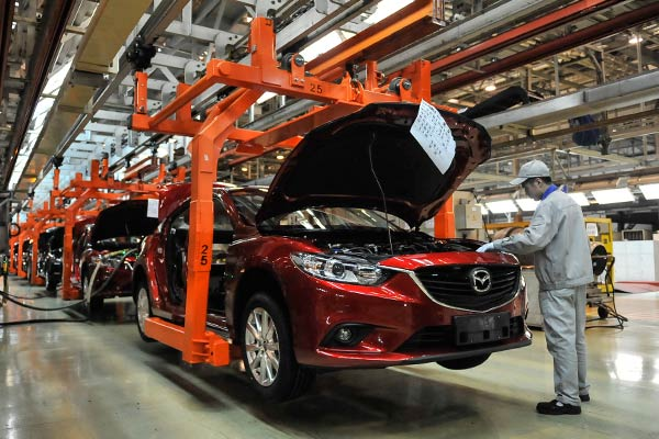 Business venture restructuring in China to help Mazda Motor to improve competitive position