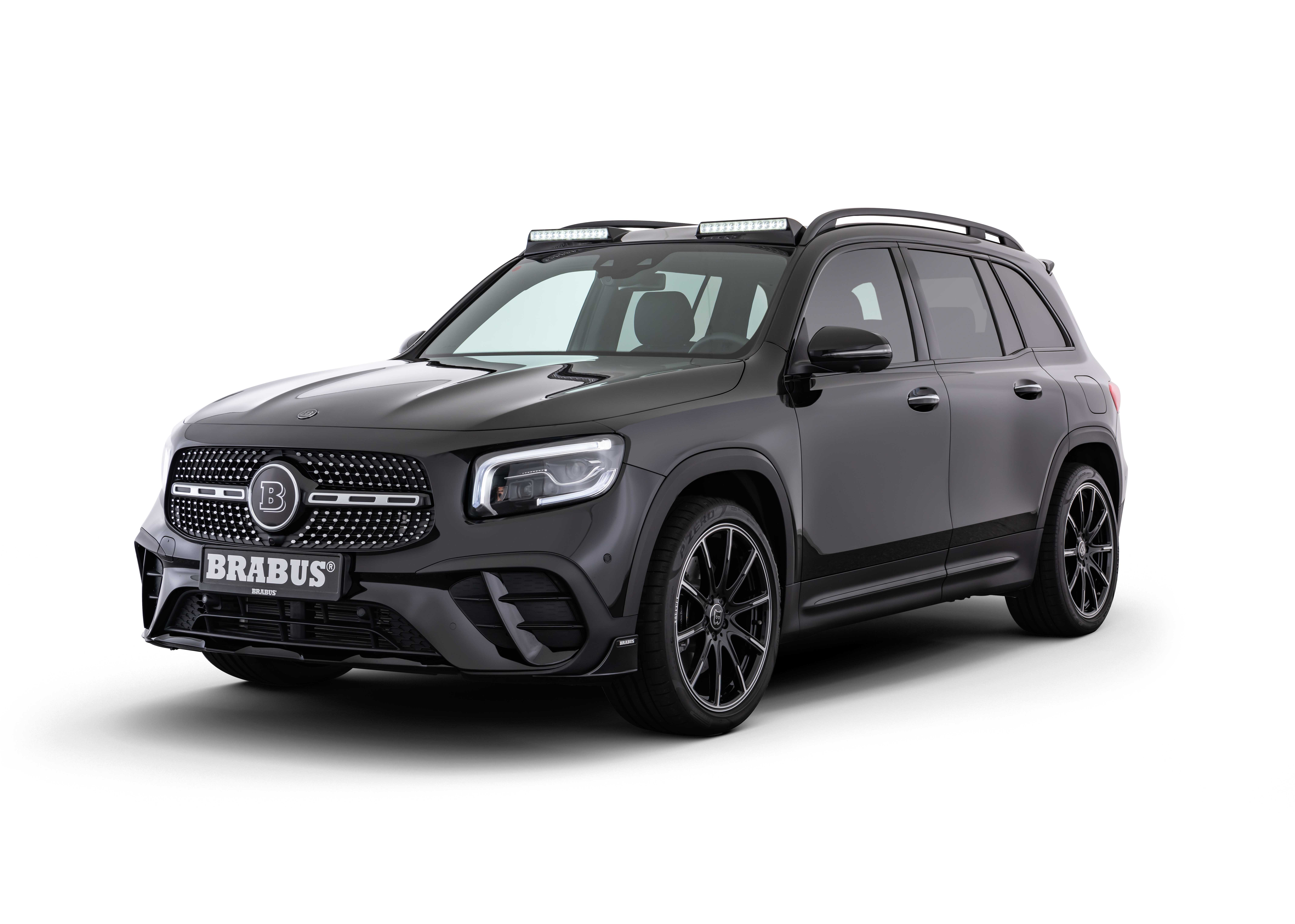 BRABUS refines the new Mercedes GLB-Class