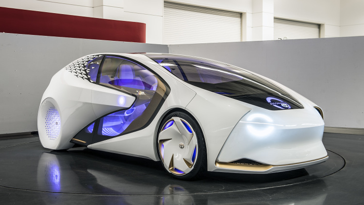 Toyota Keeps Track of Your Happiness with Concept-i