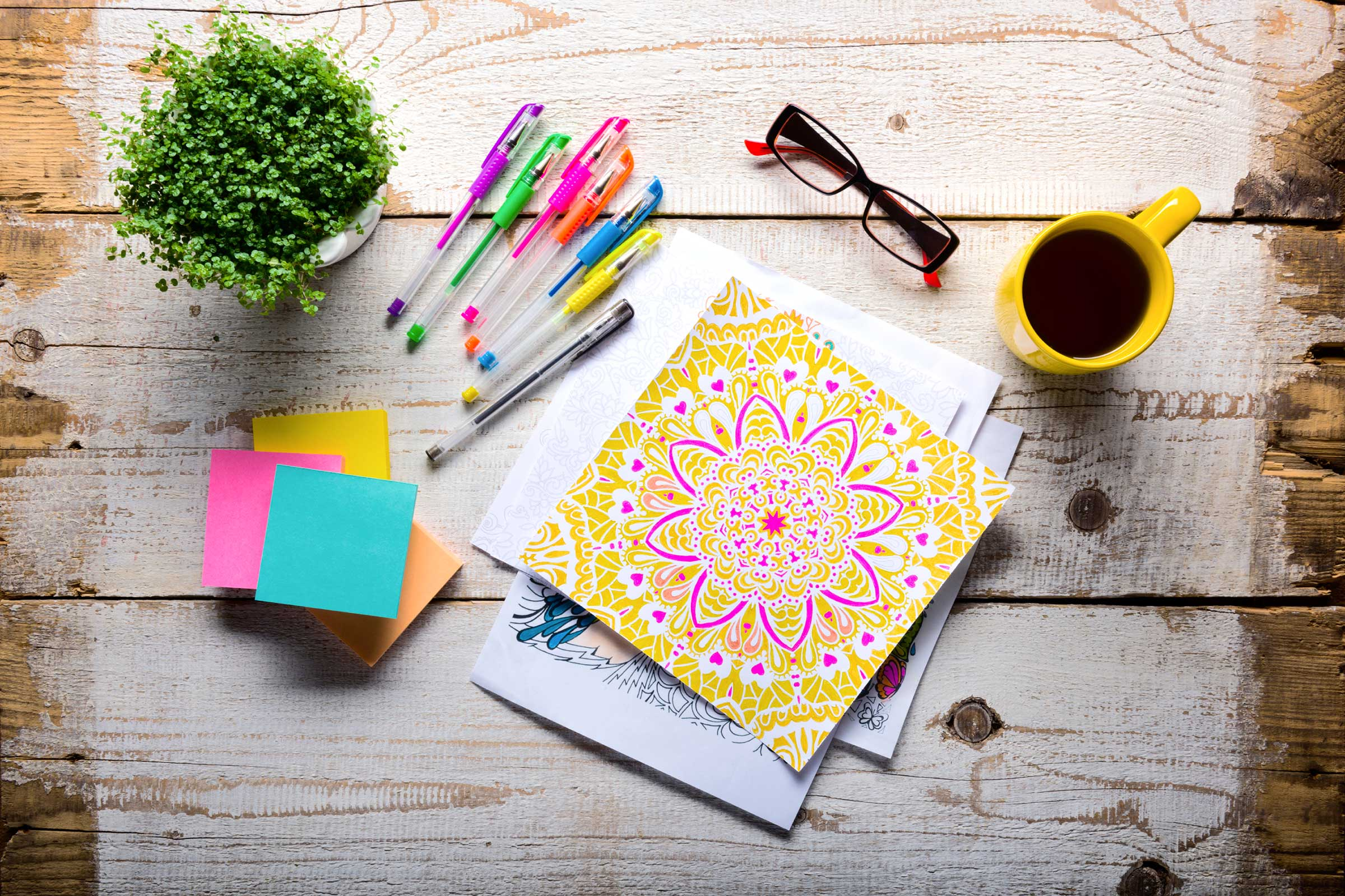 Can Coloring Help Deal with Stress?