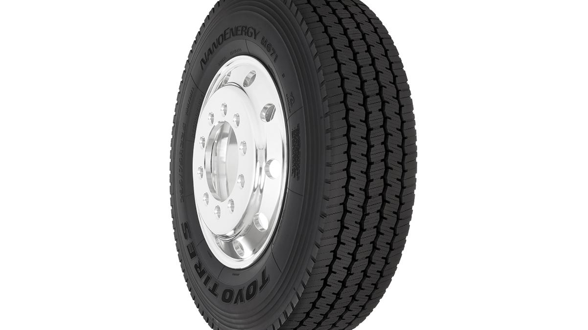 Toyo Tires Launches New NanoEnergy M671All-New Super Regional Drive Tire