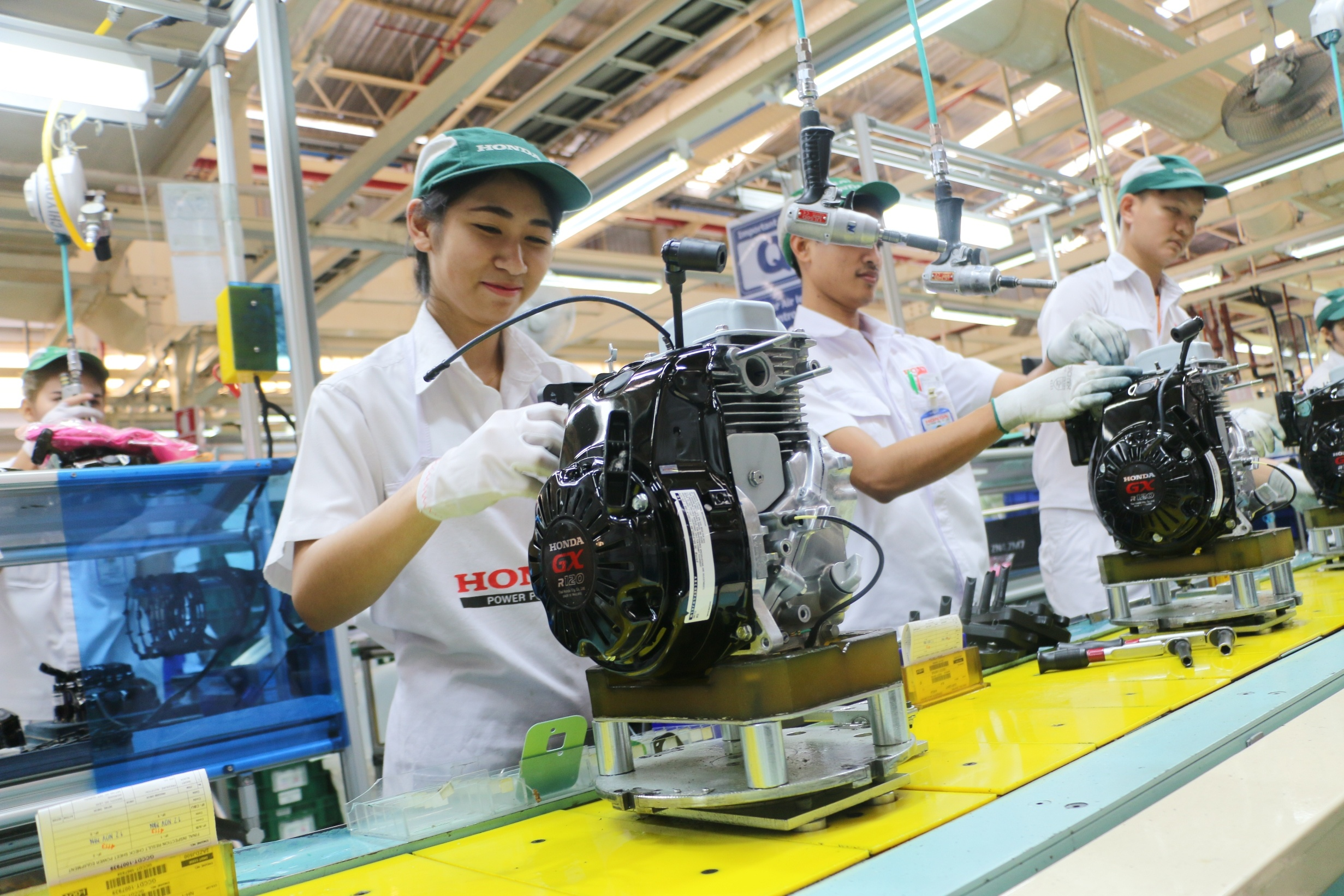 "Thai Honda Manufacturing and HPD have merged to form a new company named ""Thai Honda Manufacturing"" combining their sales and production capabilities"