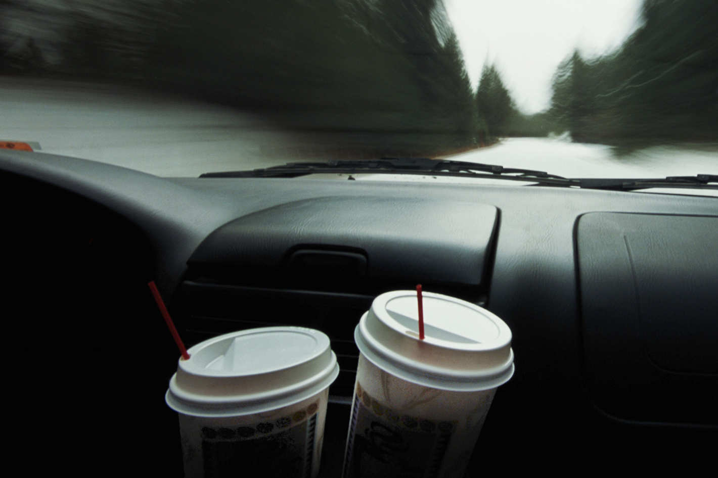 UAE Motorists Use Coffee to Stay Alert on the Roads