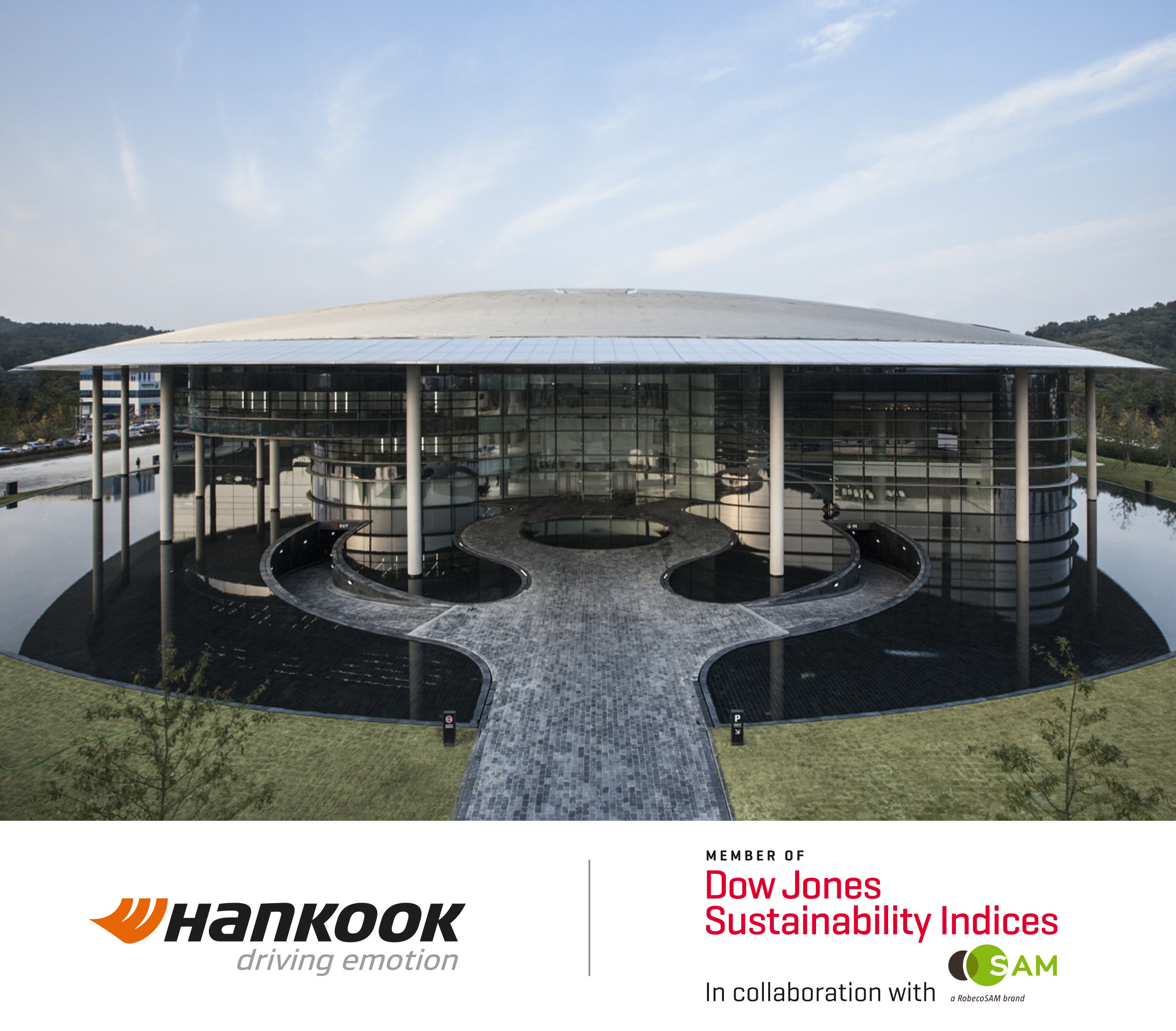 Hankook Tire Part of Dow Jones Sustainability Index for Fourth Straight Year