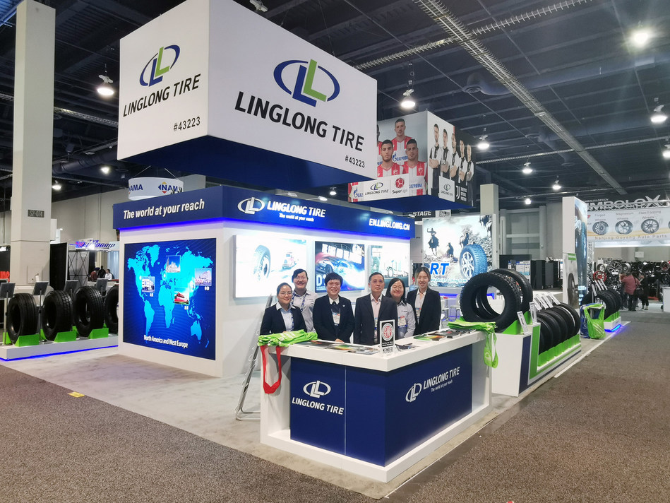Linglong Tire Showcases Key Products at SEMA Show