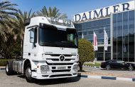 Mercedes Benz Sells 100,000 Actros Trucks in the Middle East