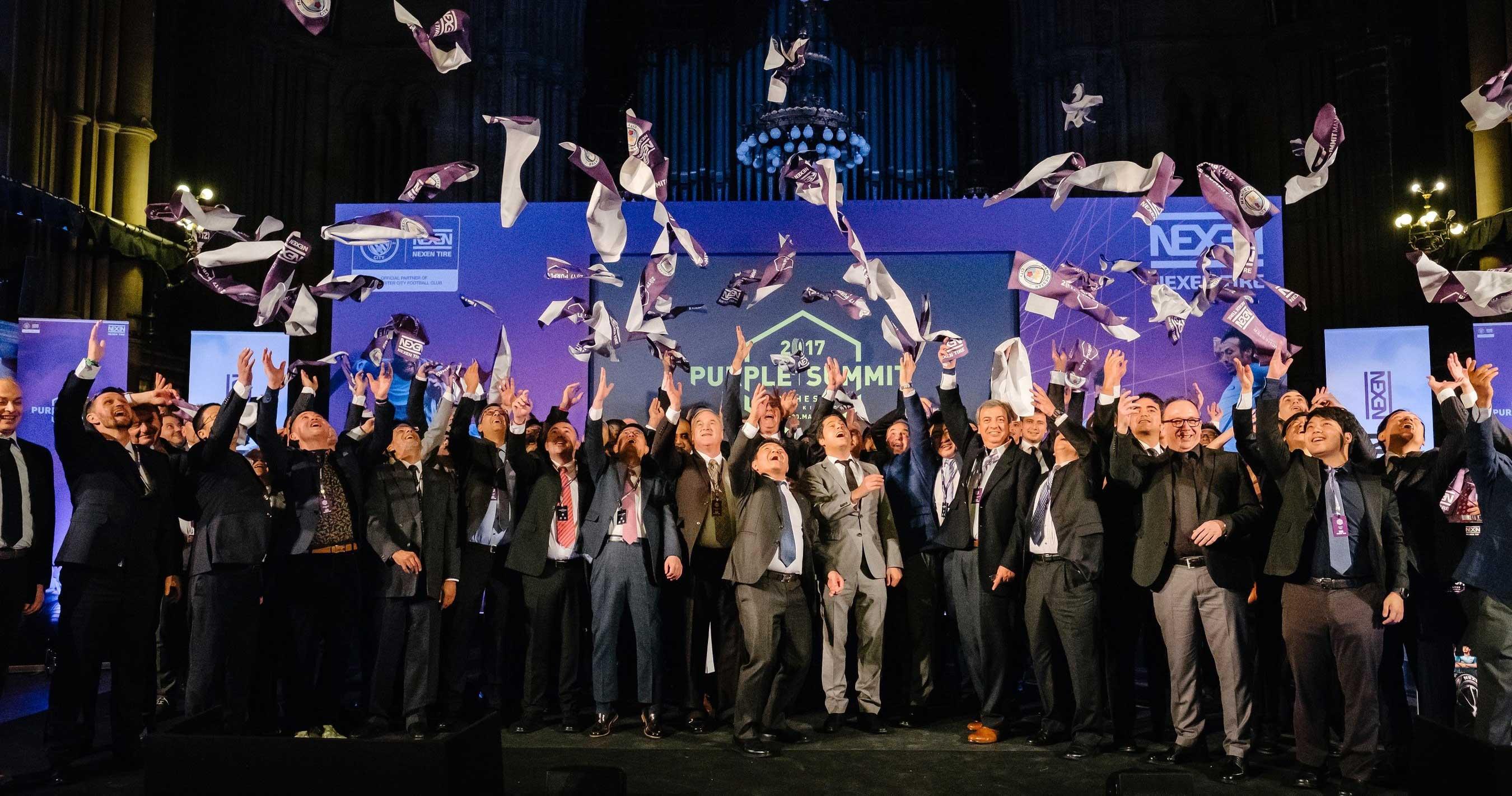 Nexen Strengthens Ties with Dealers at '2017 Purple Summit'