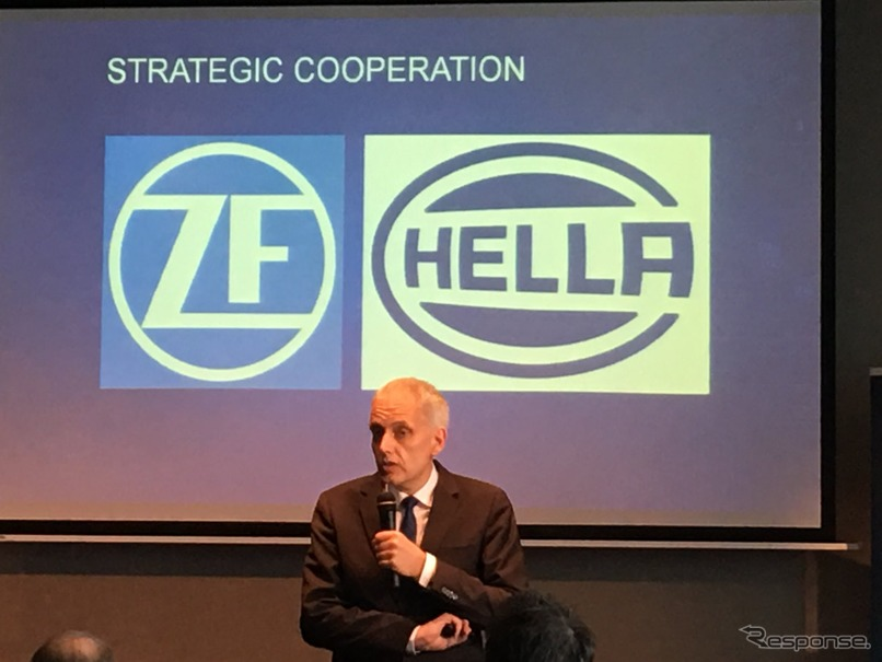 ZF Joins Hands with Hella to Develop Self-driving Sensors Business