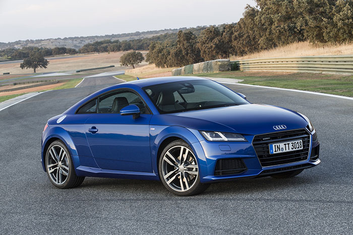 Audi TT Becomes Best Premium Sports Coupe at the MECOTY awards