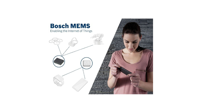 Bosch to Present New MEMS Sensors and Sensor-Enabled Apps