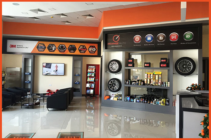 Orange auto offers exciting prizes for dims visitors for Garage auto orange