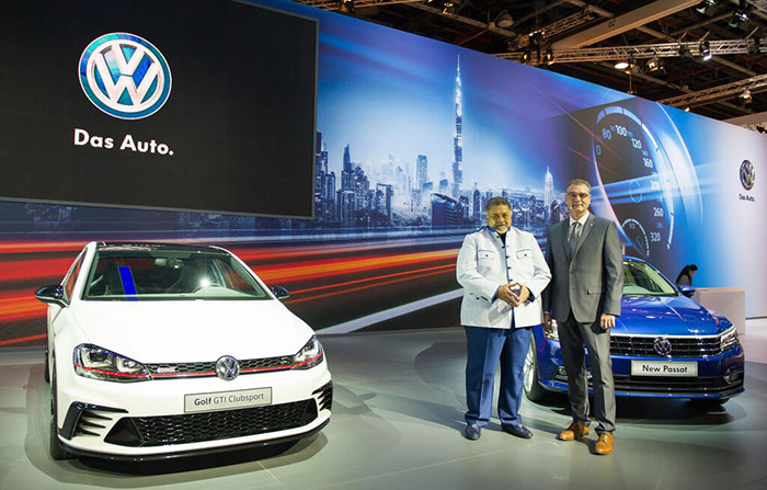 Volkswagen Middle East Debuts Golf GTI Clubsport concept car at DIMS