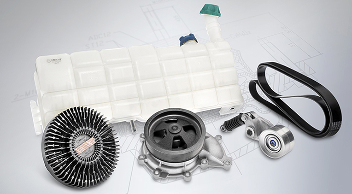 Wulf Gaertner Offers Complete MEYLE Cooling Parts Range