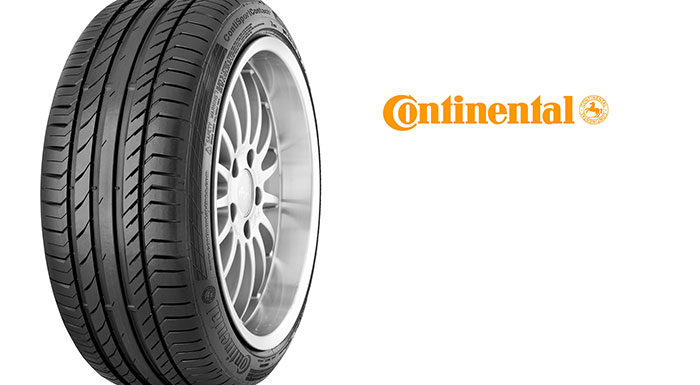 Continental UHP Tire Gets Tire of the year accolade from  Middle East Auto Experts