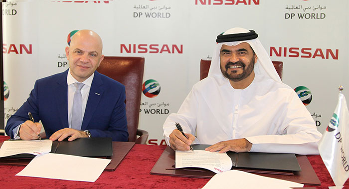 DP World Signs MOU with Nissan to Showcase Benefits of Sustainable Driving