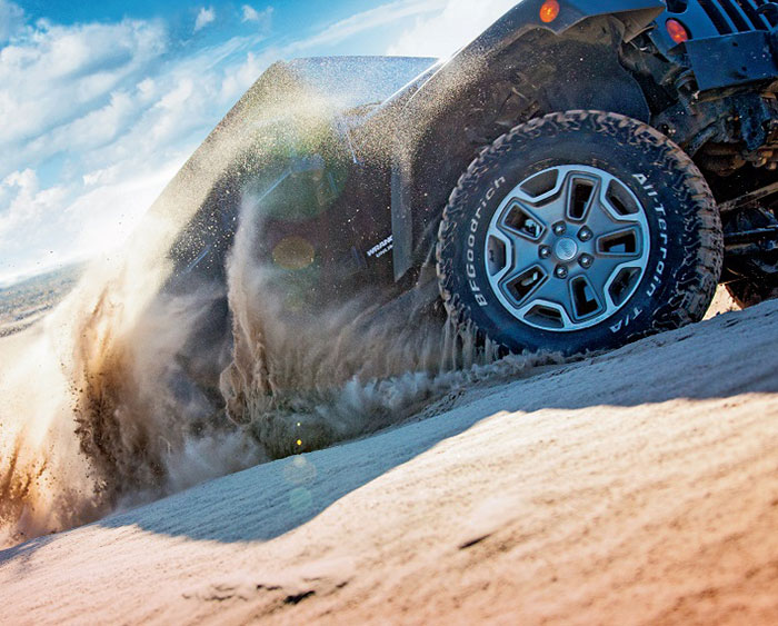 Michelin Launches Toughest 4 x 4 BF Goodrich Tire in Middle East
