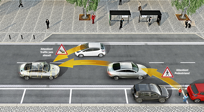 Continental's V2X Technology Safeguards Vulnerable Road Users