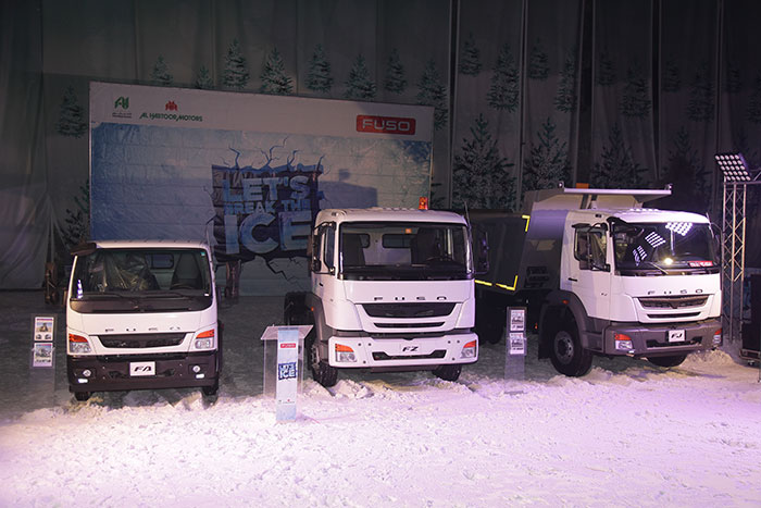 Al Habtoor Motors Brings Latest FUSO Heavyweights to the UAE