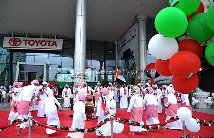 Al-Futtaim Motors Marks UAE National Day with Week Long Celebration
