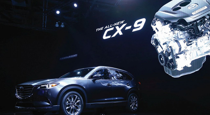 Mazda Rolls Out Turbo Petrol Engine in the New CX-9