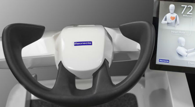 Car Seat Gives Antidote to Traffic-Related Stress