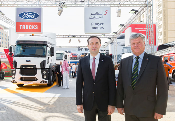 Ford Trucks Showcases 2016 range at Big 5 Trade Fair