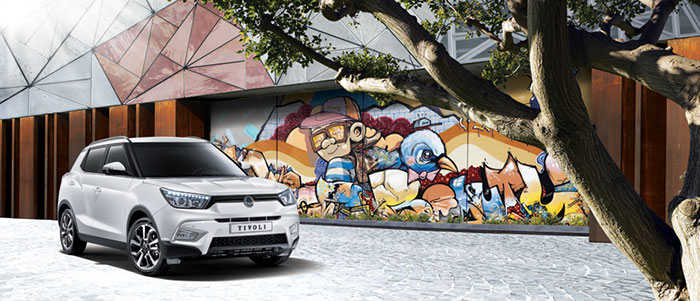 Ssangyong Tivoli to Redefine Compact SUV Segment in UAE