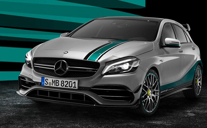 Mercedes-AMG Makes Special Edition to Celebrate Two Consecutive Formula One Championships