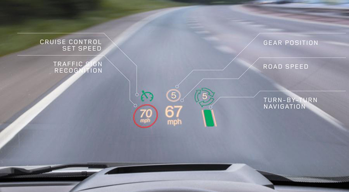 Jaguar Cars to Get Next-Gen HUD from Cambridge University
