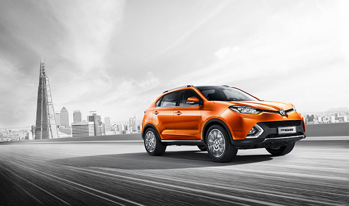 SAIC Builds on Motorshow Success with Middle East Premiere of MG GS
