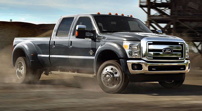 Ford F-Series Truck Gets High-Strength Novelis Aluminum