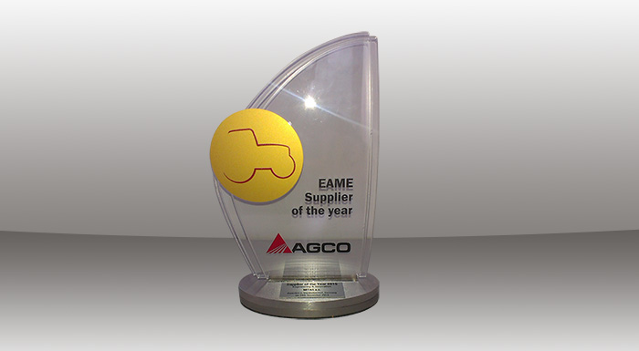 Mitas Bags AGCO Supplier of the Year award for AirCell