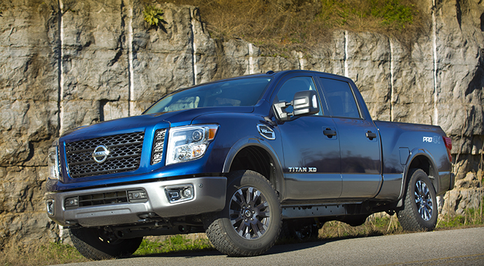 Nissan TITAN and TITAN XD to Have New V8 Engine