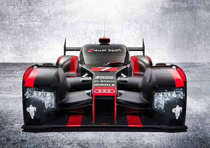 Audi Launches New R18 with a Bang