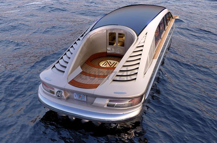 Asking Price for New Amphibious Luxury Limousine Posted on dubizzle AED 15 Million