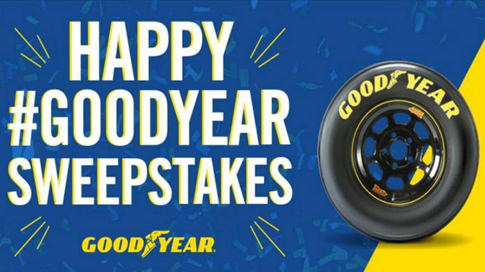 Goodyear Celebrates the New Year with Social Media Sweepstakes