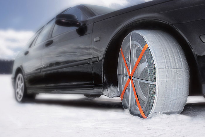 Tire socks are emerging as viable alternative to snow chains