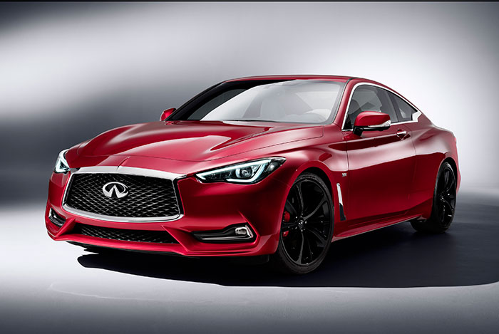 Infiniti Uses Detroit Motor Show for Global Debut of Q60 sports coupe
