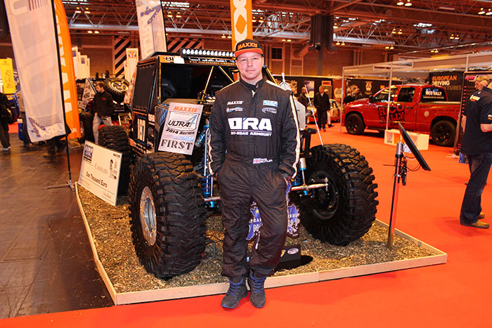 Maxxis Announces Sponsorship Support for Rob Butler of Off-Road Armoury