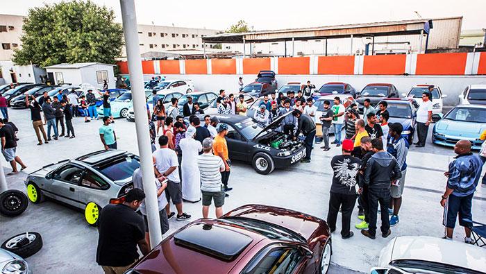 Honda Club Middle East Celebrates Outstanding Service at Orange Auto with Club Meet