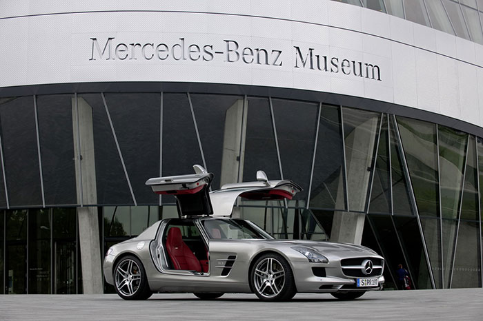 Mercedes-Benz Museum Celebrates 10 Years  of Existence