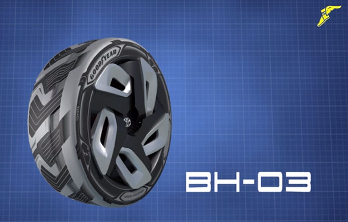 Goodyear Debuts Two Concept Tires at Auto Expo 2016