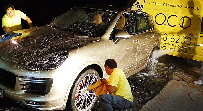 OCD Offers Eco-Friendly Mobile Car Detailing Service in GCC
