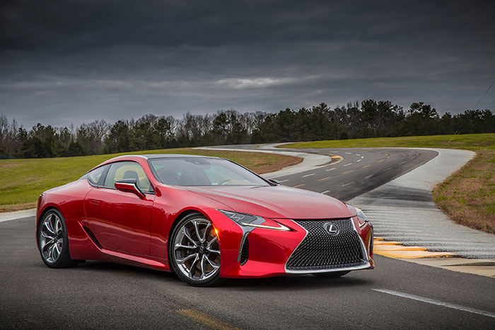 New Lexus LC 500 is First Luxury Car with 10-speed Automatic Transmission