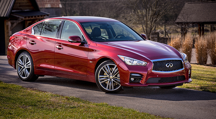 Infiniti Unveils 3 New Engines for Q50 Sports Sedan