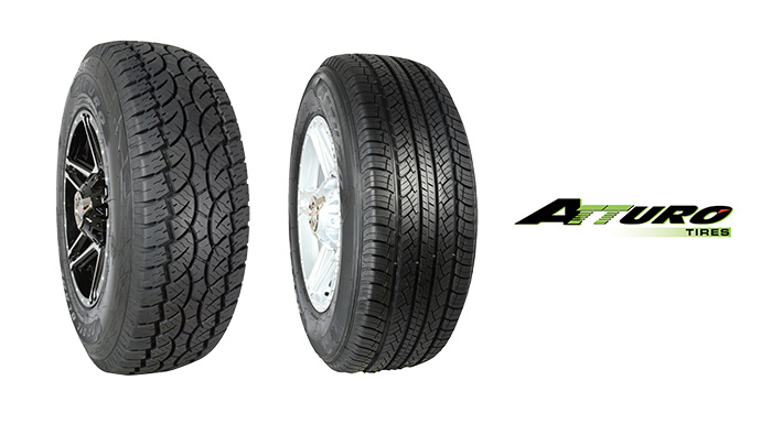 Atturo Tire Strengthens Trail Blade A/T and AZ600 Ranges with Mileage Warranty and New Sizes