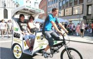 BKT Prepares for BAUMA 2016 with Customization of Rickshaws
