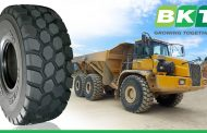 BKT to Debut Earthmax SR 31 tire at BAUMA 2016