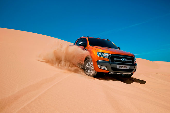 Ford Debuts New Ranger Pickup in the UAE