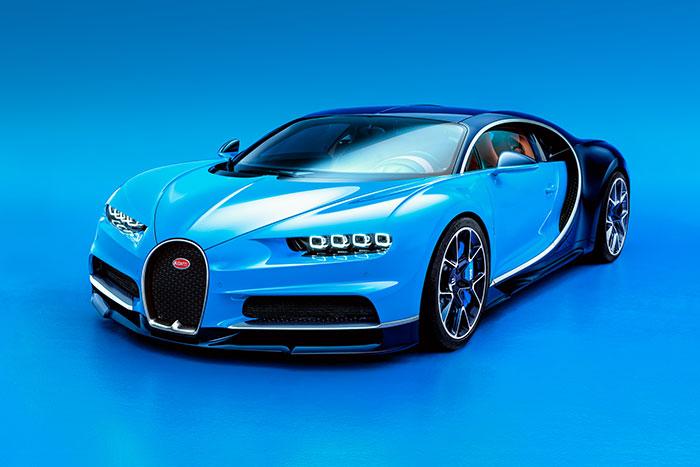 Bugatti to Premiere Chiron at Geneva Motor Show